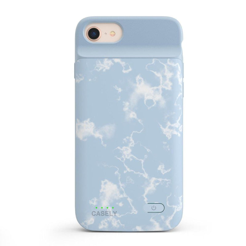 Light Blue Skies Marble Clouds Case iPhone Case get.casely Power 2.0 iPhone SE (2020)