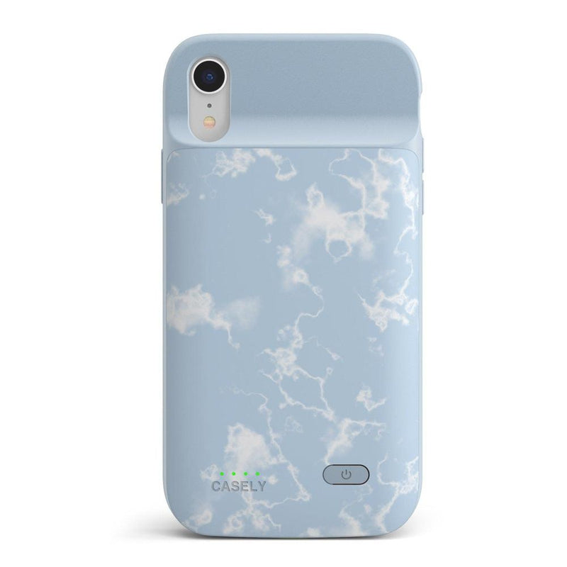 Light Blue Skies Marble Clouds Case iPhone Case get.casely Power 2.0 iPhone XR