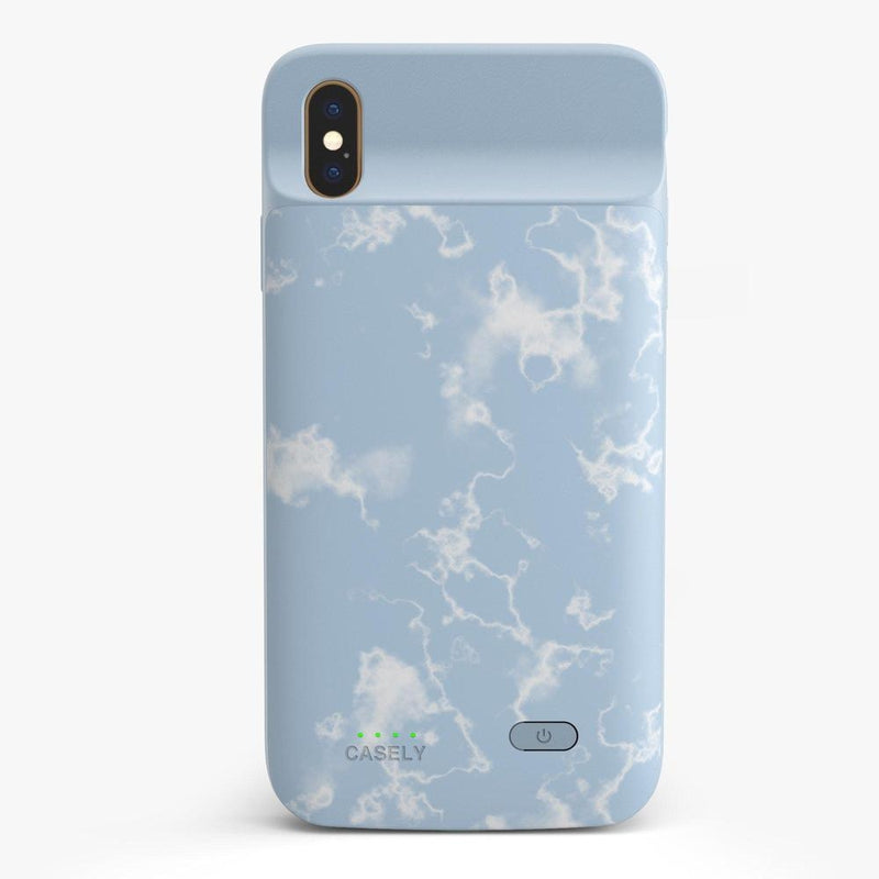 Light Blue Skies Marble Clouds Case iPhone Case get.casely Power 2.0 iPhone XS Max