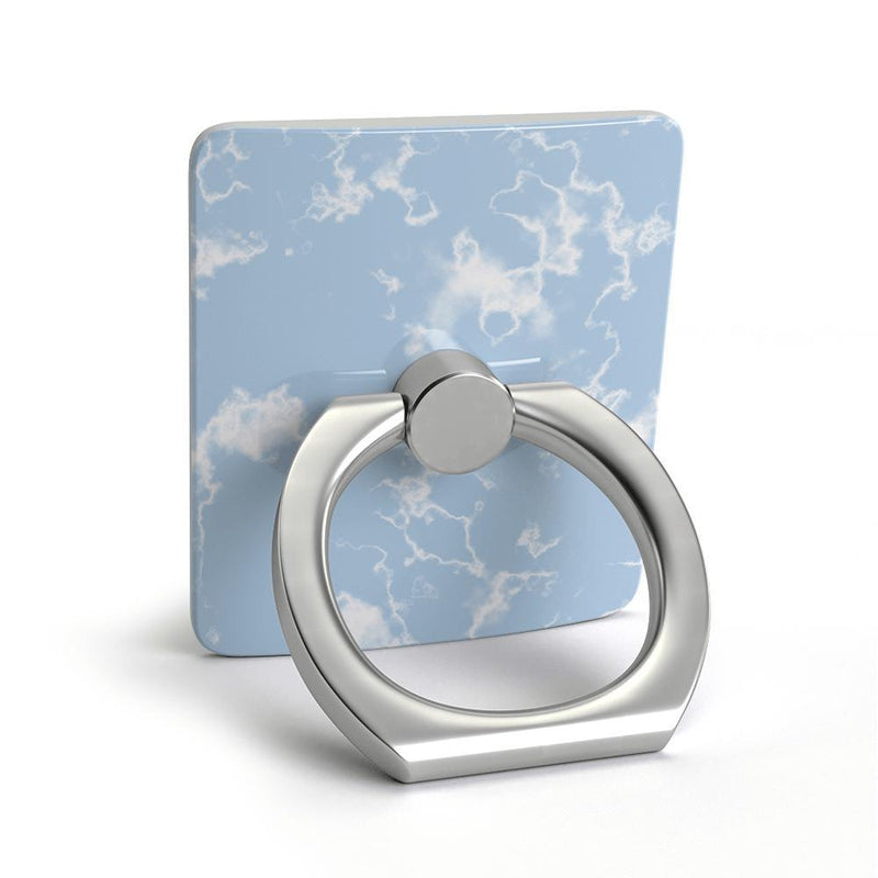 Light Blue Skies Marble Clouds Phone Ring Phone Ring get.casely