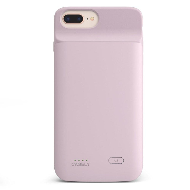 Light Pink Battery-Powered Charging Case iPhone Case get.casely Power 2.0 iPhone 8 Plus