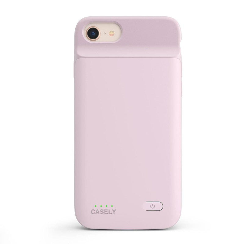 Light Pink Battery-Powered Charging Case iPhone Case get.casely Power 2.0 iPhone SE (2020)