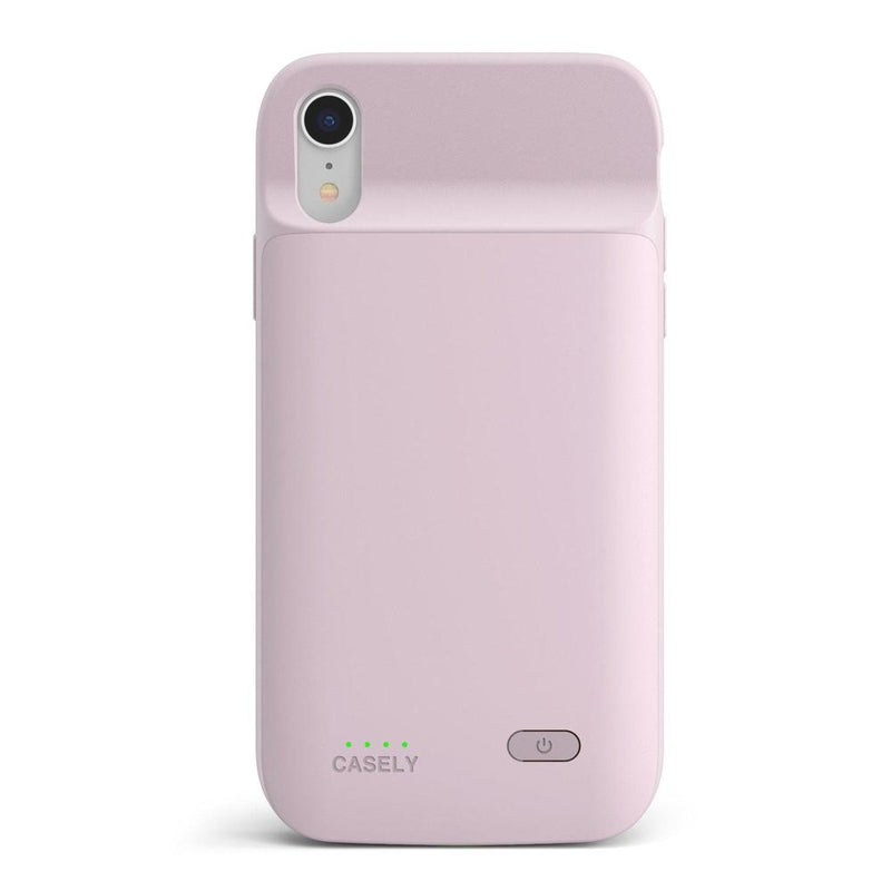 Light Pink Battery-Powered Charging Case iPhone Case get.casely Power 2.0 iPhone XR