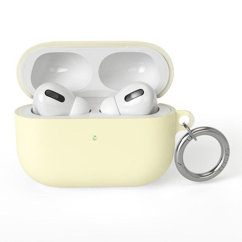 Light Yellow AirPods Case AirPods Case CASELY AirPods Pro Case