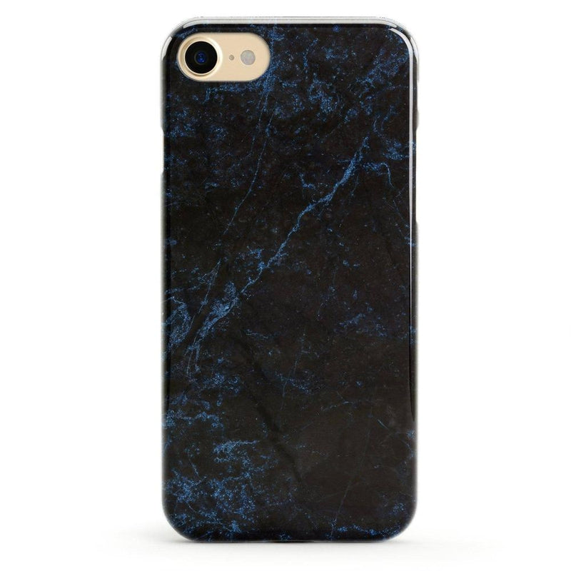 Midnight Marble Black & Navy Glitter Case iPhone Case Get.Casely Classic iPhone 6/6s