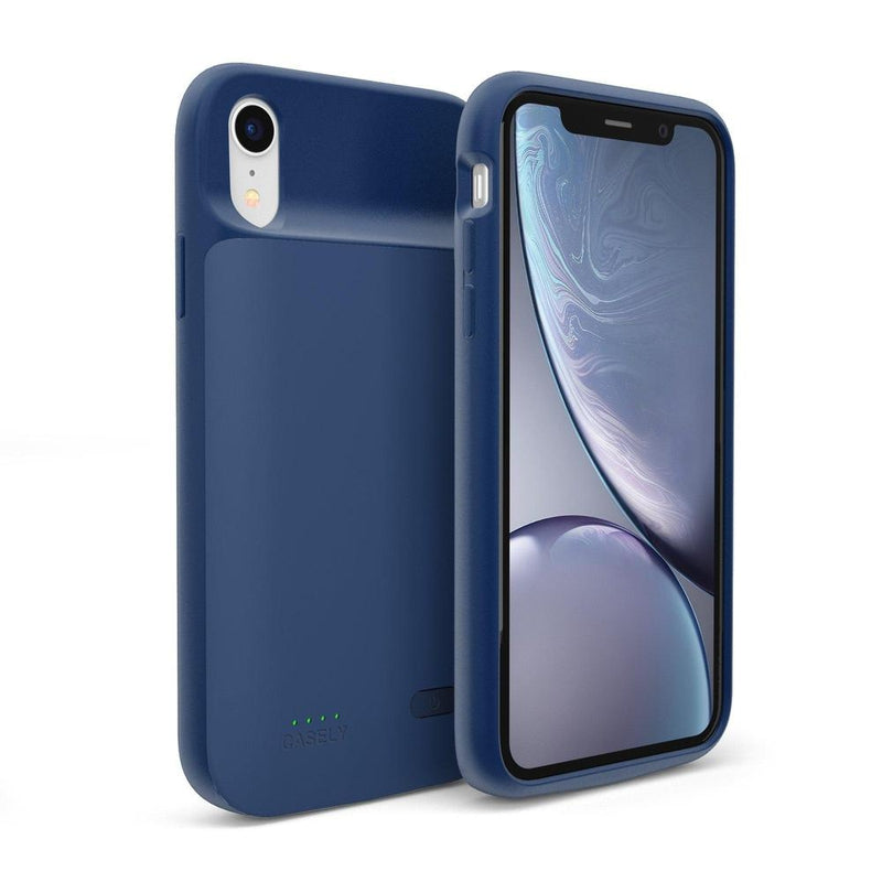 Navy Battery-Powered Charging Case iPhone Case get.casely