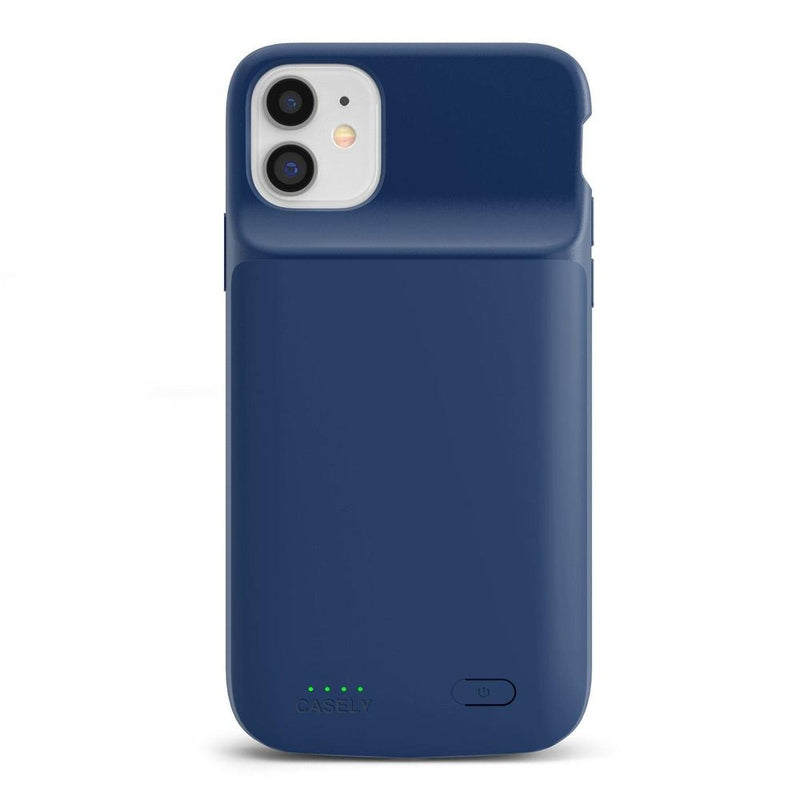 Navy Battery-Powered Charging Case iPhone Case get.casely Power 2.0 iPhone 11