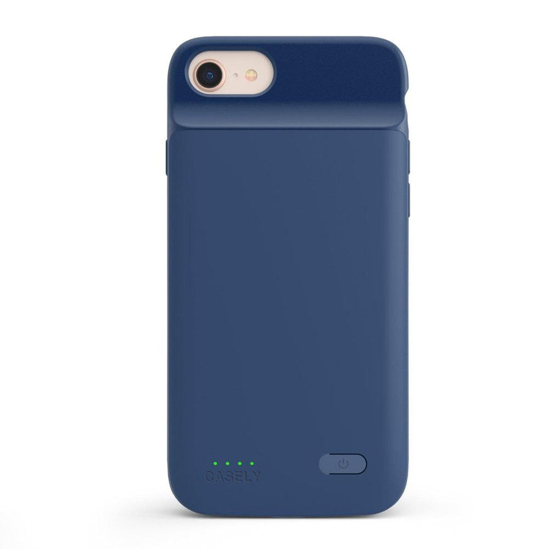 Navy Battery-Powered Charging Case iPhone Case get.casely Power 2.0 iPhone SE (2020)