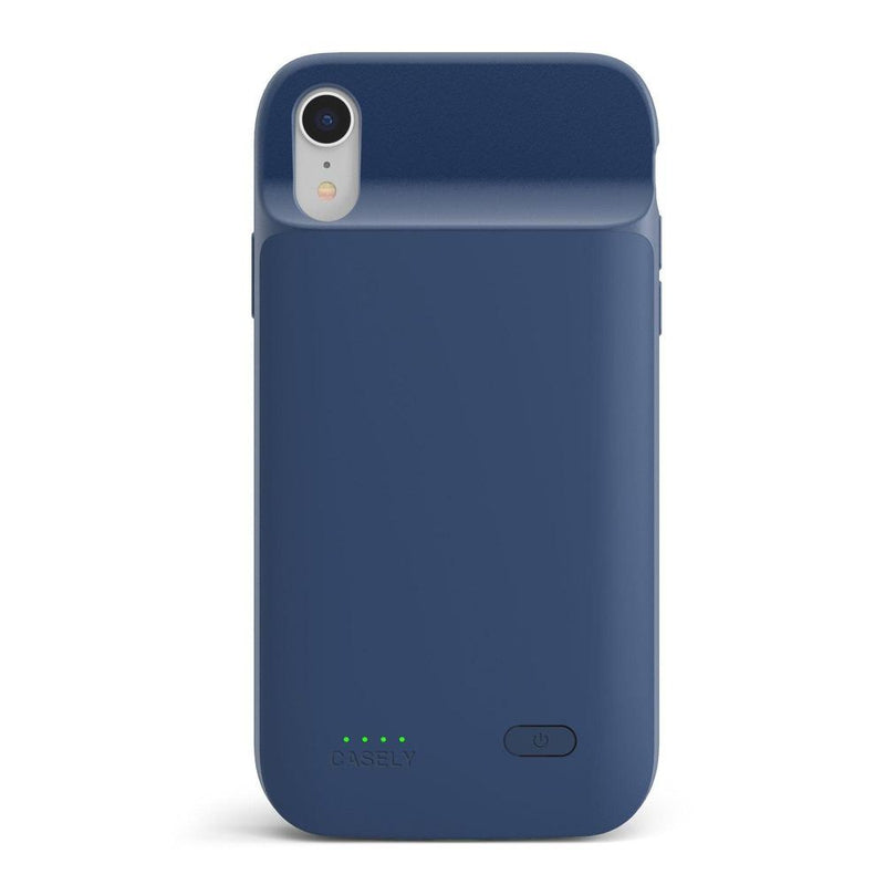 Navy Battery-Powered Charging Case iPhone Case get.casely Power 2.0 iPhone XR
