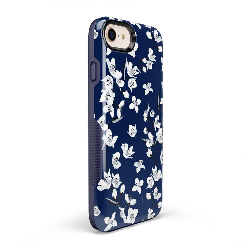 Navy Flower Power Floral Case iPhone Case Get.Casely
