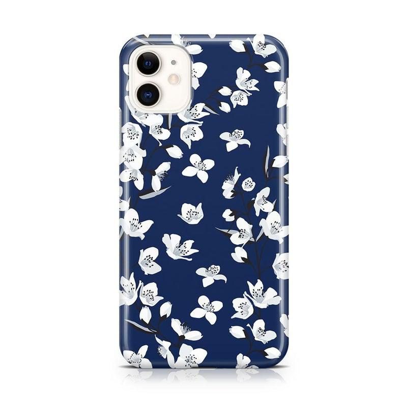 Navy Flower Power Floral Case iPhone Case Get.Casely Classic iPhone 11