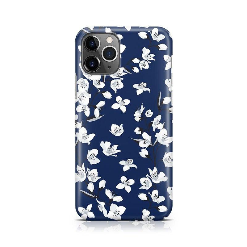 Navy Flower Power Floral Case iPhone Case Get.Casely Classic iPhone 11 Pro