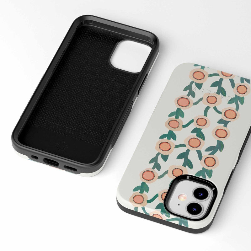 Off the Vine | Floral Print Case iPhone Case get.casely