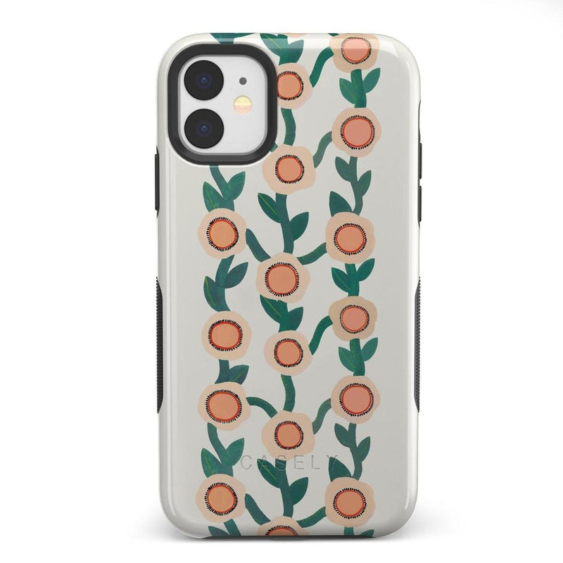 Off the Vine | Floral Print Case iPhone Case Get.Casely Bold iPhone 11