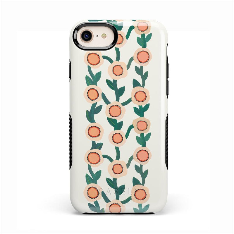 Off the Vine | Floral Print Case iPhone Case Get.Casely Bold iPhone 8