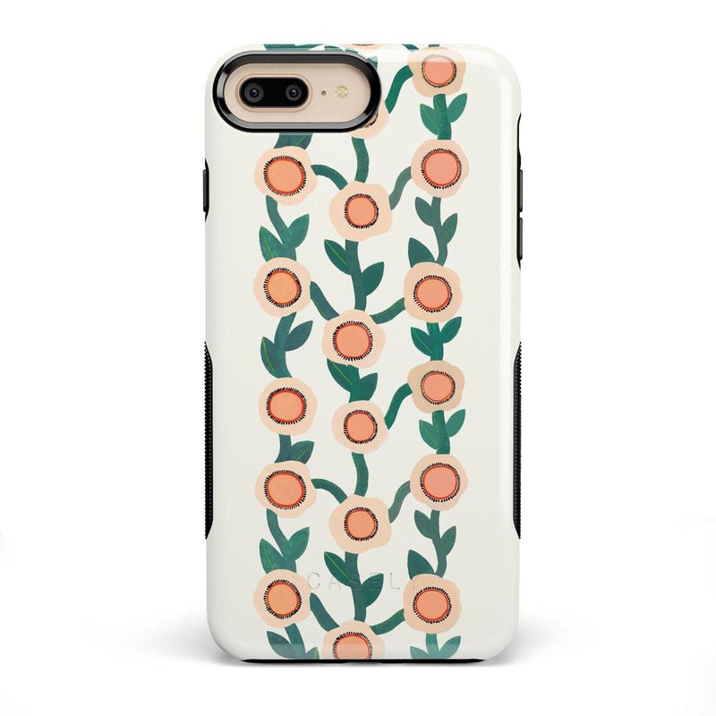 Off the Vine | Floral Print Case iPhone Case Get.Casely Bold iPhone 8 Plus