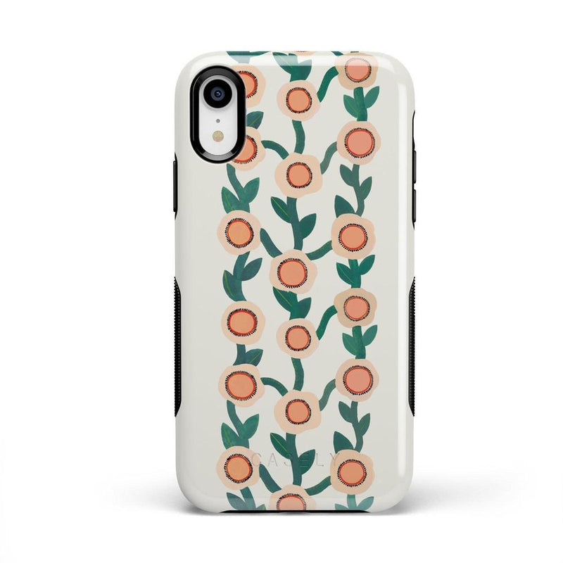 Off the Vine | Floral Print Case iPhone Case Get.Casely Bold iPhone XR