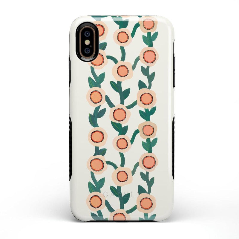 Off the Vine | Floral Print Case iPhone Case Get.Casely Bold iPhone XS Max