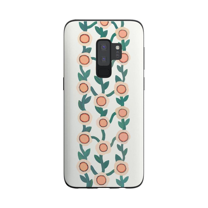Off the Vine | Floral Print Case iPhone Case Get.Casely Classic Galaxy S9 Plus