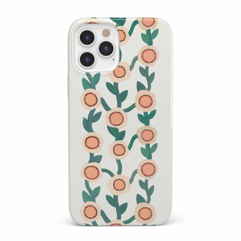 Off the Vine | Floral Print Case iPhone Case get.casely Classic iPhone 12 Pro