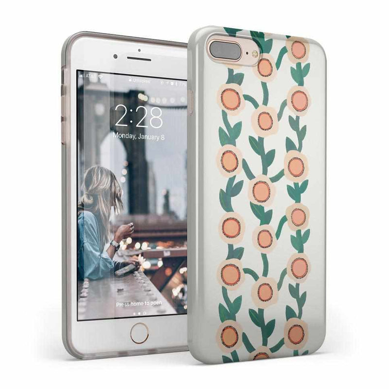 Off the Vine | Floral Print Case iPhone Case Get.Casely Classic iPhone 8 Plus