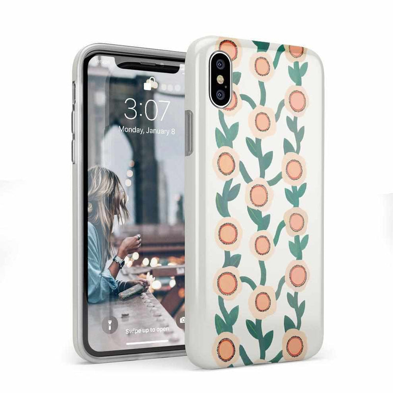 Off the Vine | Floral Print Case iPhone Case Get.Casely Classic iPhone X / XS