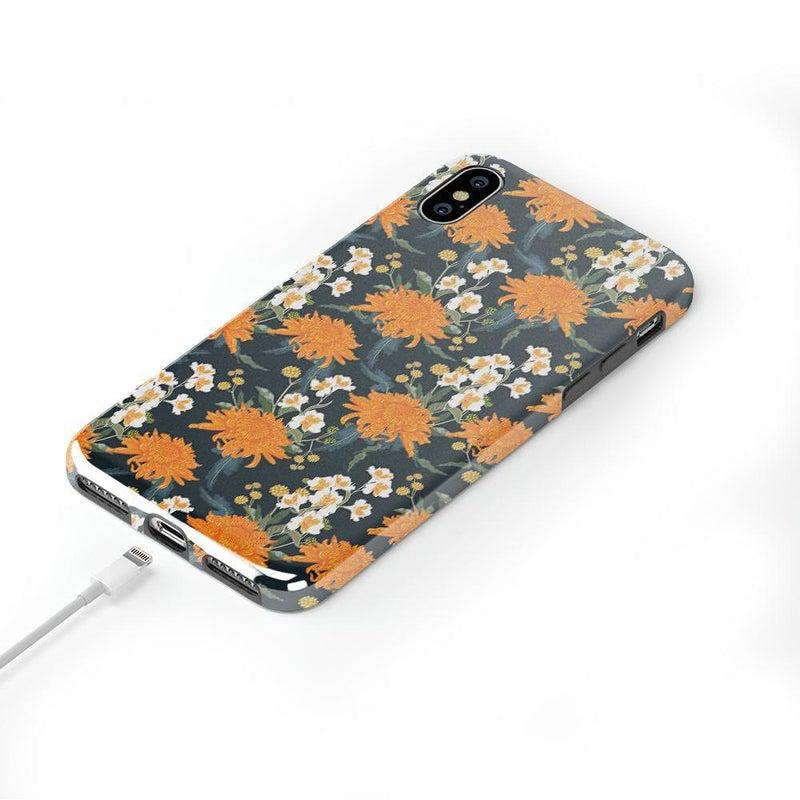 Off Tropic | Exotic Orange Flower Case iPhone Case Get.Casely