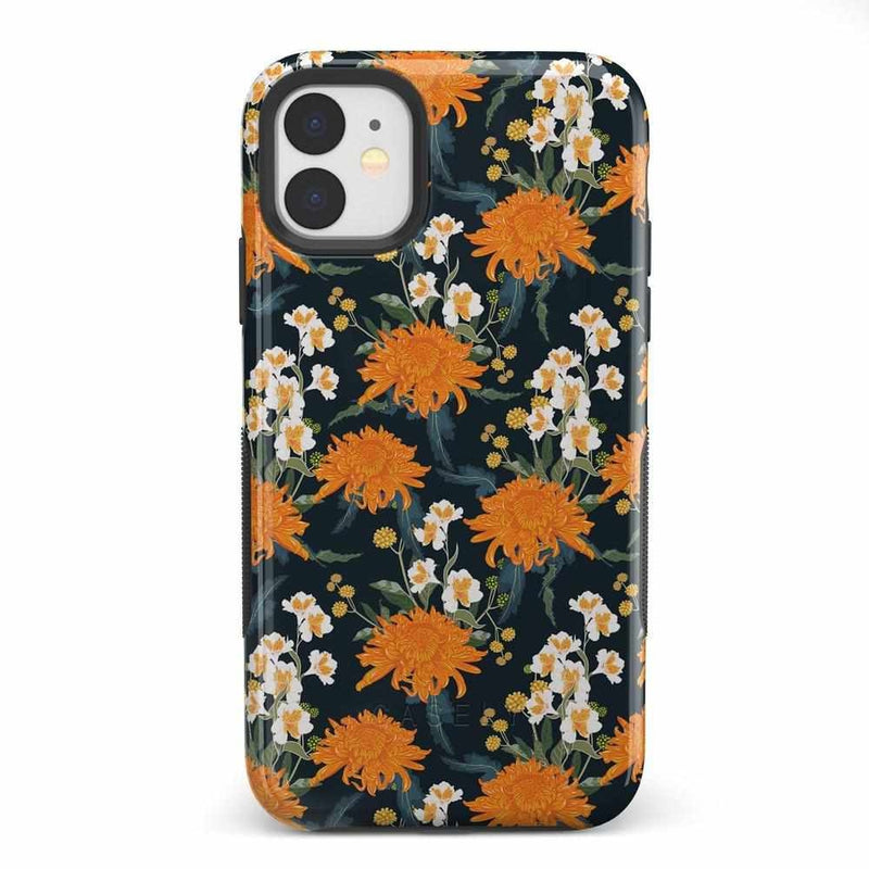 Off Tropic | Exotic Orange Flower Case iPhone Case Get.Casely Bold iPhone 11