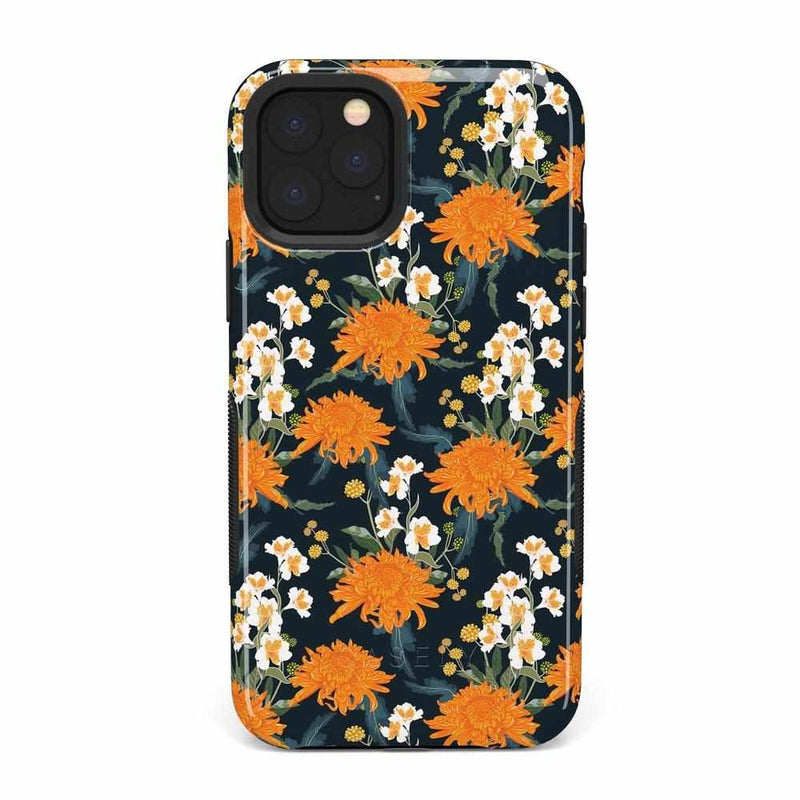 Off Tropic | Exotic Orange Flower Case iPhone Case Get.Casely Bold iPhone 11 Pro