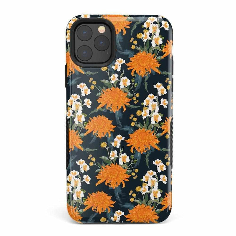Off Tropic | Exotic Orange Flower Case iPhone Case Get.Casely Bold iPhone 11 Pro Max