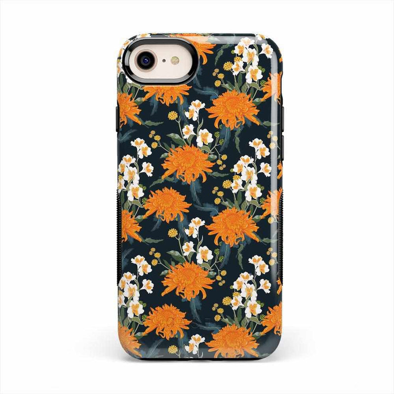 Off Tropic | Exotic Orange Flower Case iPhone Case Get.Casely Bold iPhone 8