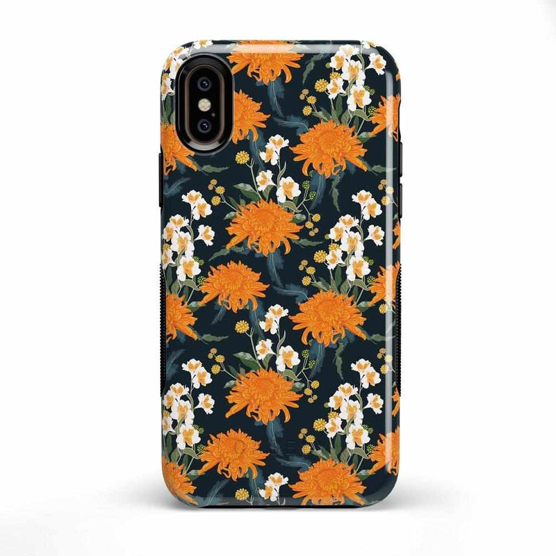 Off Tropic | Exotic Orange Flower Case iPhone Case Get.Casely Bold iPhone X / XS