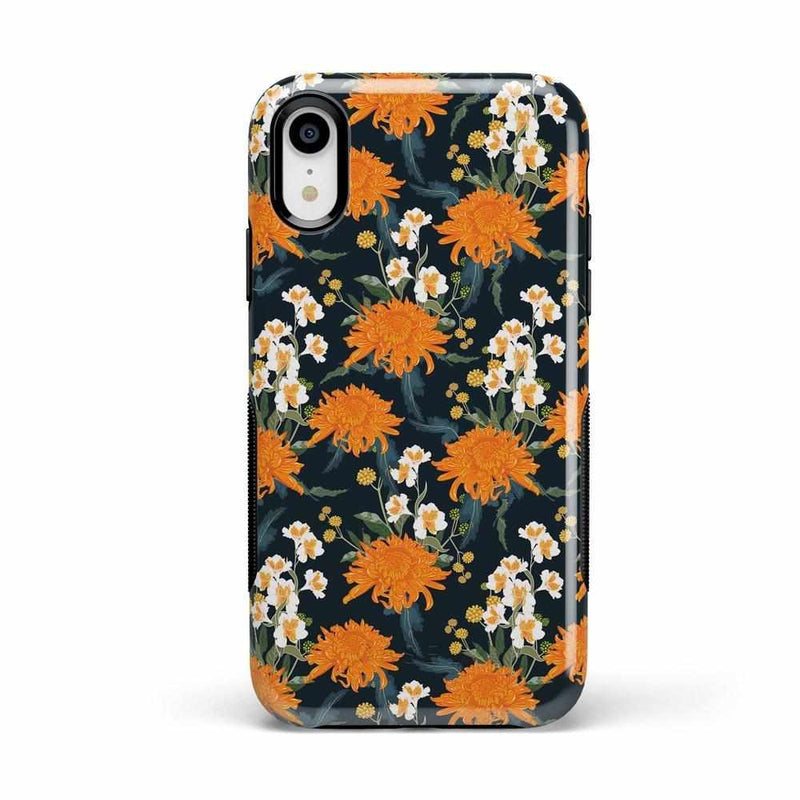 Off Tropic | Exotic Orange Flower Case iPhone Case Get.Casely Bold iPhone XR