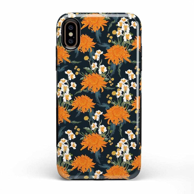 Off Tropic | Exotic Orange Flower Case iPhone Case Get.Casely Bold iPhone XS Max
