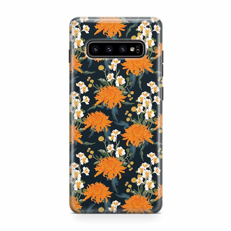 Off Tropic | Exotic Orange Flower Case iPhone Case Get.Casely Classic Galaxy S10 Plus