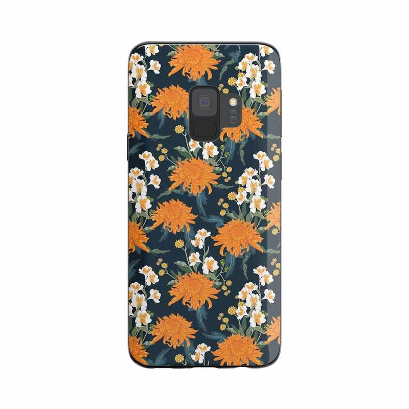 Off Tropic | Exotic Orange Flower Case iPhone Case Get.Casely Classic Galaxy S9