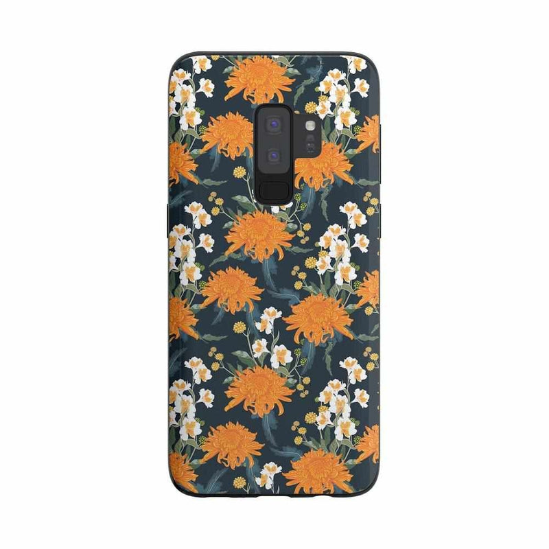 Off Tropic | Exotic Orange Flower Case iPhone Case Get.Casely Classic Galaxy S9 Plus