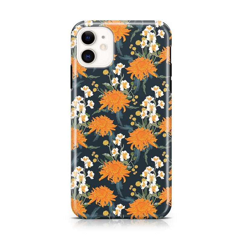 Off Tropic | Exotic Orange Flower Case iPhone Case Get.Casely Classic iPhone 11