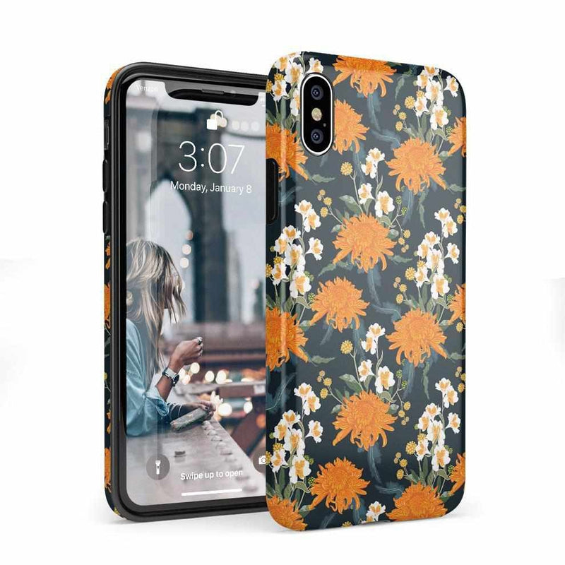 Off Tropic | Exotic Orange Flower Case iPhone Case Get.Casely Classic iPhone X / XS