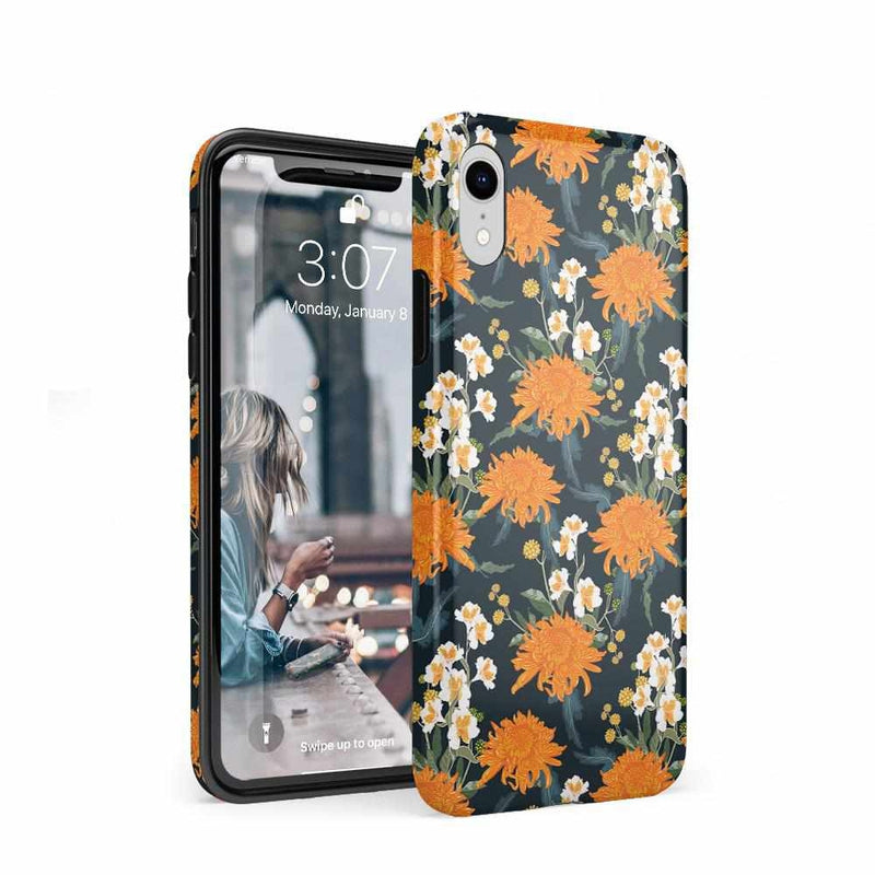 Off Tropic | Exotic Orange Flower Case iPhone Case Get.Casely Classic iPhone XR