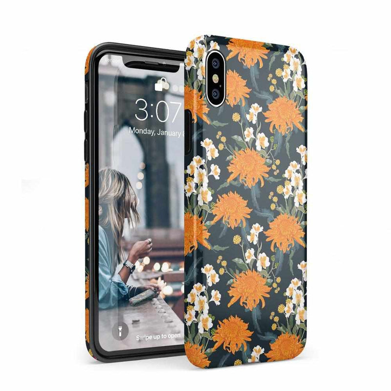 Off Tropic | Exotic Orange Flower Case iPhone Case Get.Casely Classic iPhone XS Max