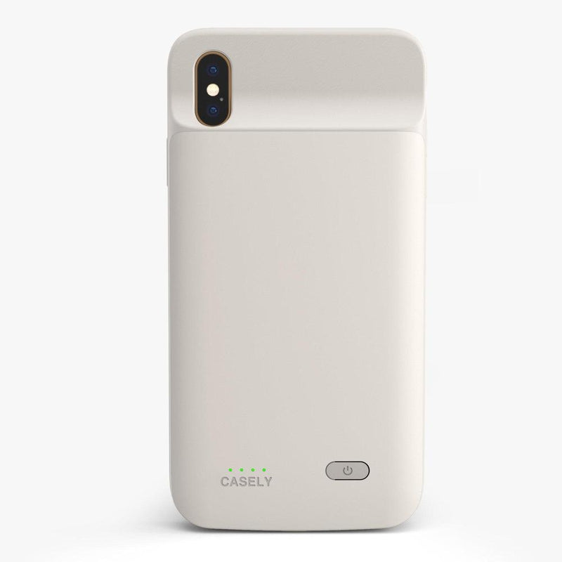 Off-White Battery-Powered Charging Case iPhone Case get.casely Power 2.0 iPhone XS Max