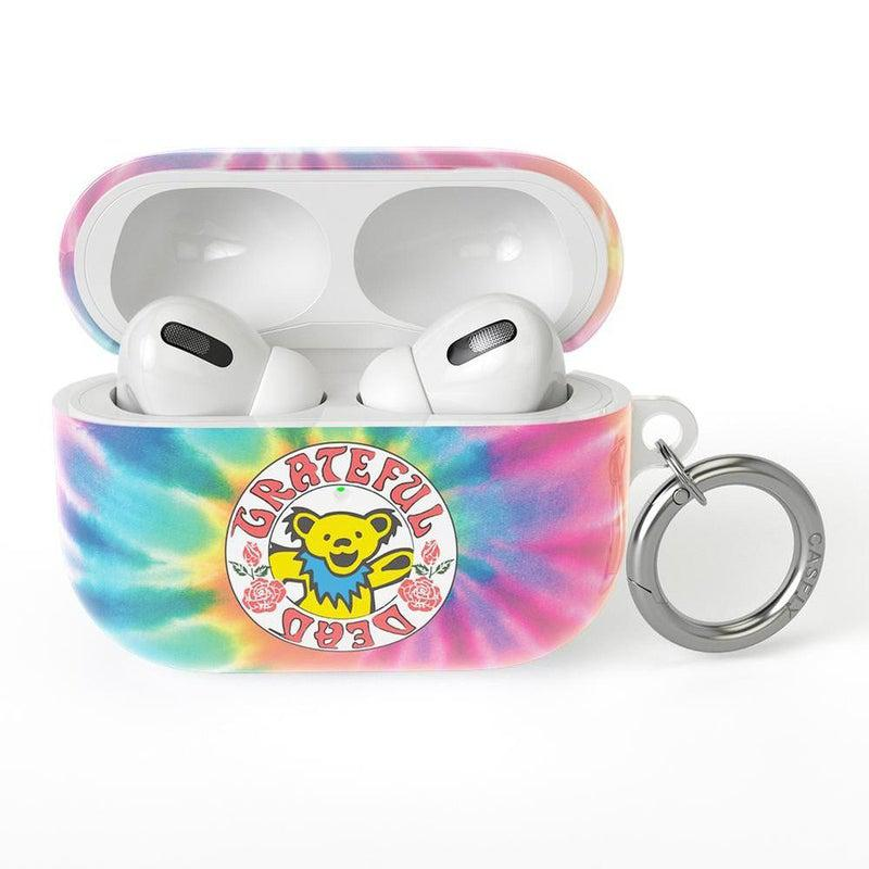 On Tour | Grateful Dead Tie Dye Sticker AirPods Case AirPods Case CASELY AirPods Case