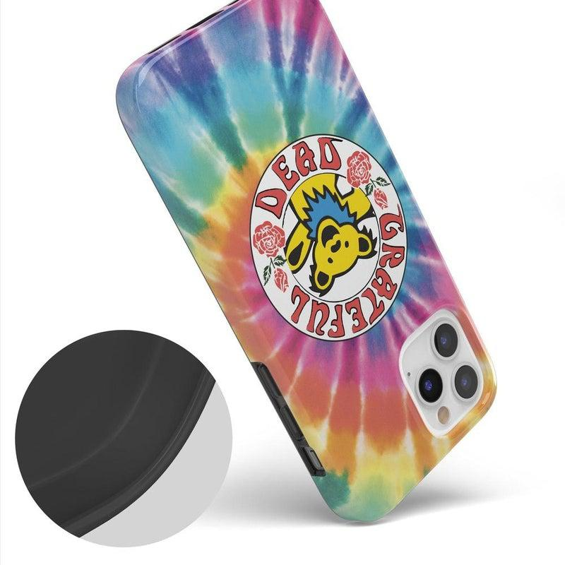 On Tour | Grateful Dead Tie Dye Sticker Case iPhone Case Grateful Dead
