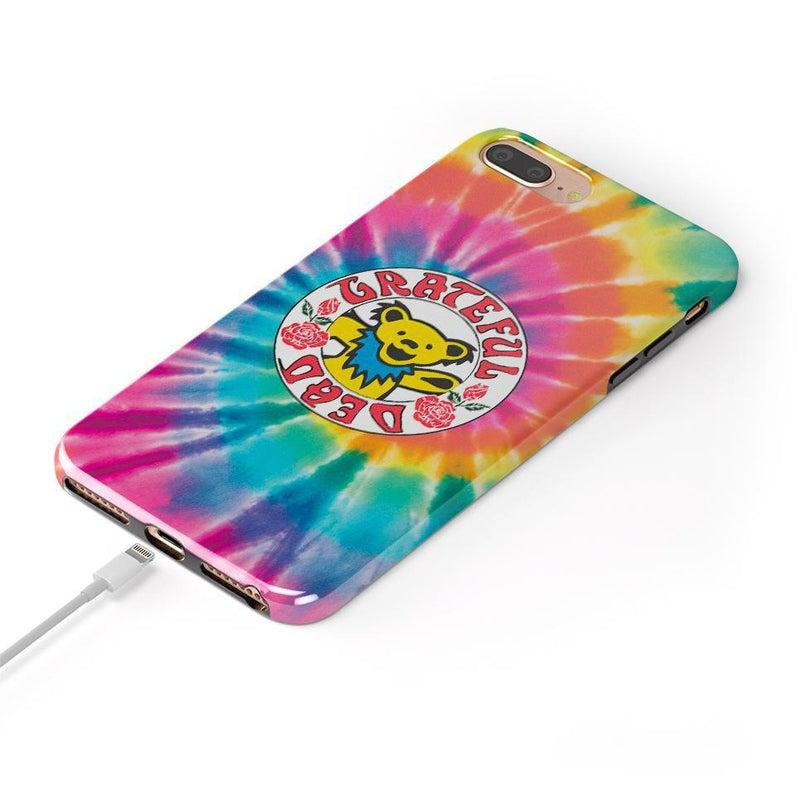 On Tour | Grateful Dead Tie Dye Sticker Case iPhone Case get.casely