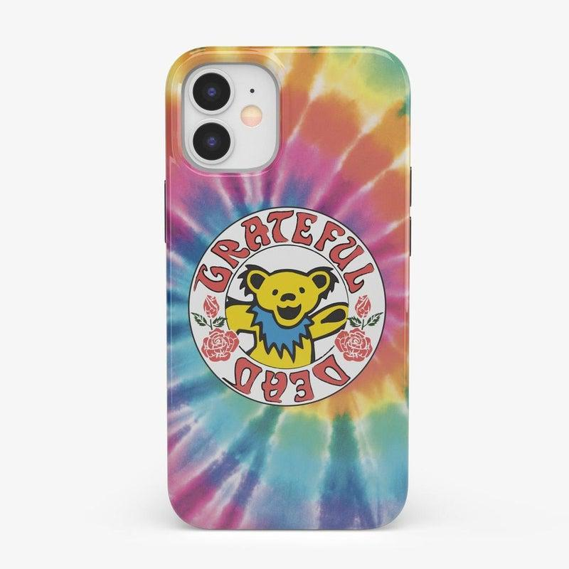On Tour | Grateful Dead Tie Dye Sticker Case iPhone Case Grateful Dead Classic iPhone 12