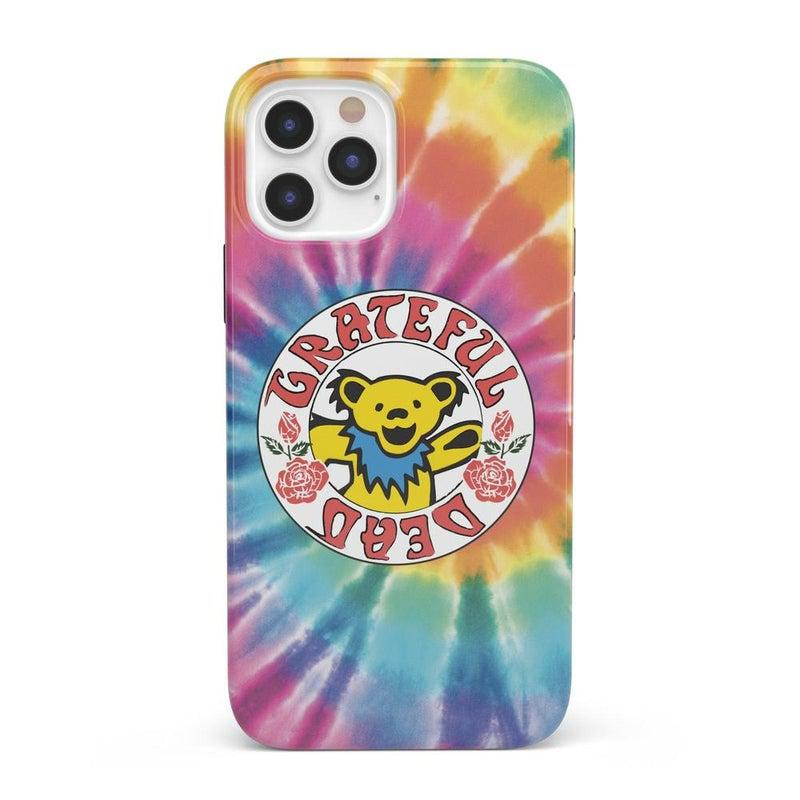 On Tour | Grateful Dead Tie Dye Sticker Case iPhone Case Grateful Dead Classic iPhone 12 Pro