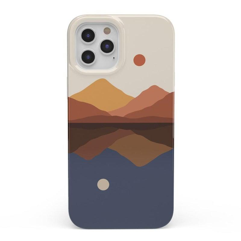 Opposites Attract | Day & Night Colorblock Case iPhone Case get.casely Classic iPhone SE (2020)