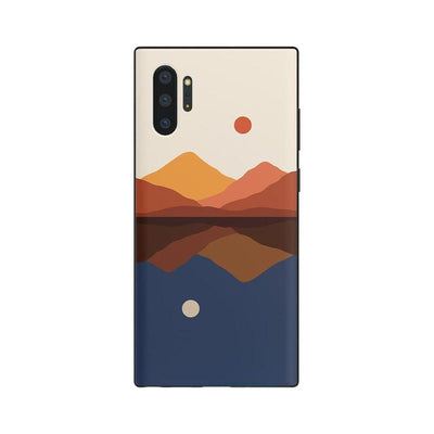 Opposites Attract | Day & Night Colorblock Samsung Case Samsung Case get.casely Classic Galaxy S10 Plus