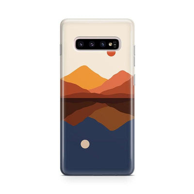 Opposites Attract | Day & Night Colorblock Samsung Case Samsung Case get.casely Classic Galaxy S9